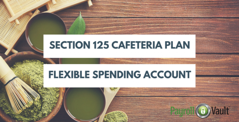 Section 125 Cafeteria Plan: Flexible Spending Account
